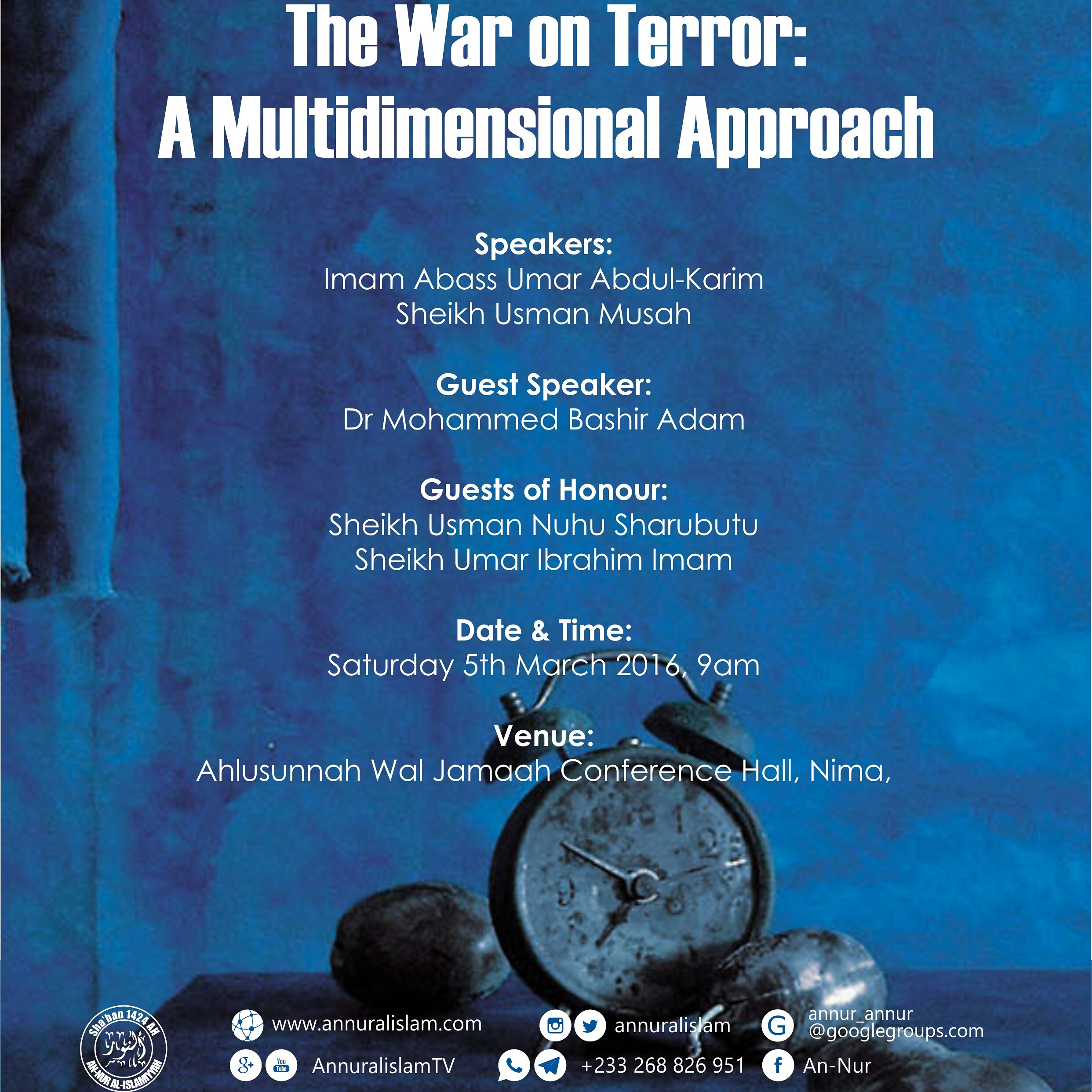 War on Terrorism: A Multidimensional Approach