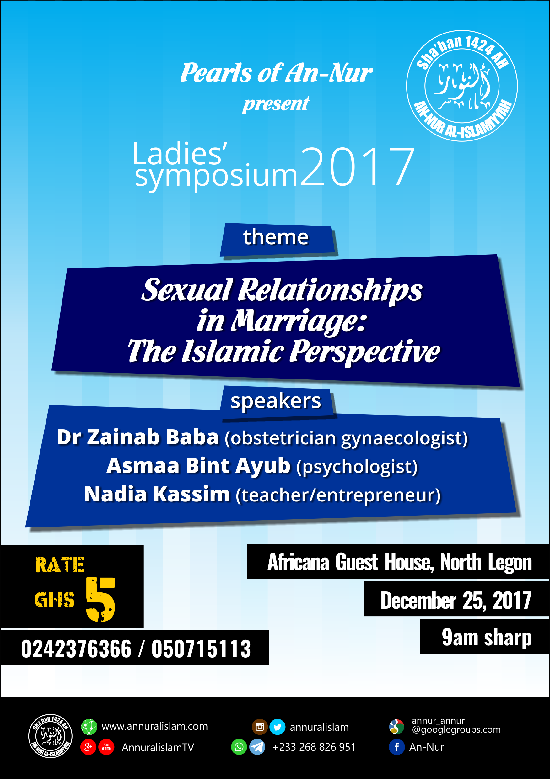 Sexual relations in marriage: The Islamic perspective